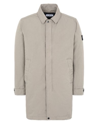STONE ISLAND 71349 DAVID-TC Mid-length jacket Man Mud USD 959