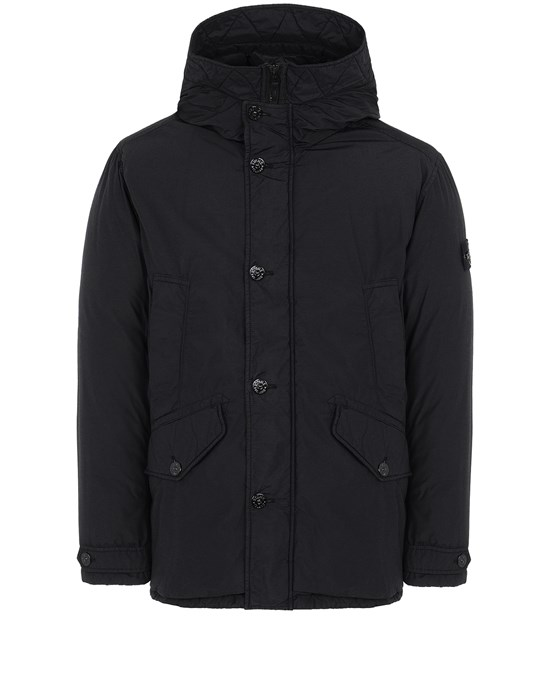 Jacket Man 42732 NASLAN LIGHT WATRO DOWN-TC Front STONE ISLAND