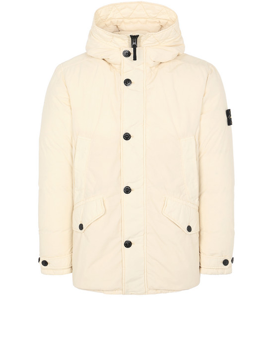 STONE ISLAND 42732 NASLAN LIGHT WATRO DOWN-TC Jacket Man Butter