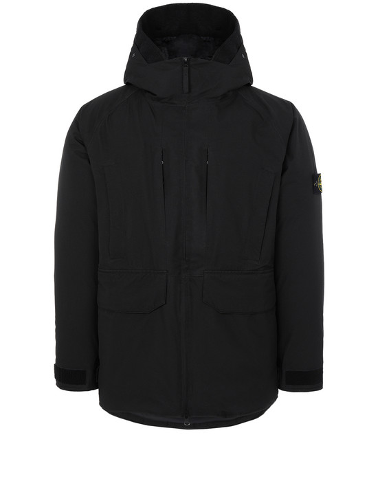 STONE ISLAND 40230 RIPSTOP GORE-TEX PRODUCT TECHNOLOGY DOWN ブルゾン メンズ ブラック