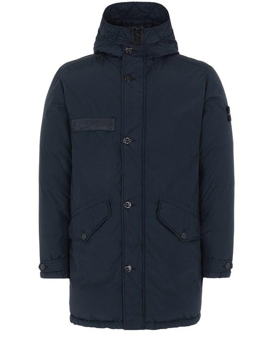 STONE ISLAND 71032 NASLAN LIGHT WATRO DOWN-TC Mid-length jacket Man Blue
