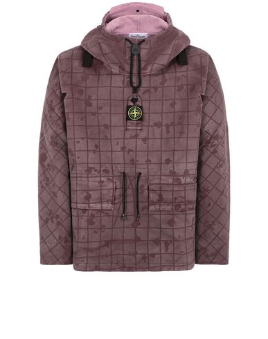 STONE ISLAND 436E1 TELA FLOCK-TC + GHILLIE LASER CAMO Jacket Man Magenta USD 1368