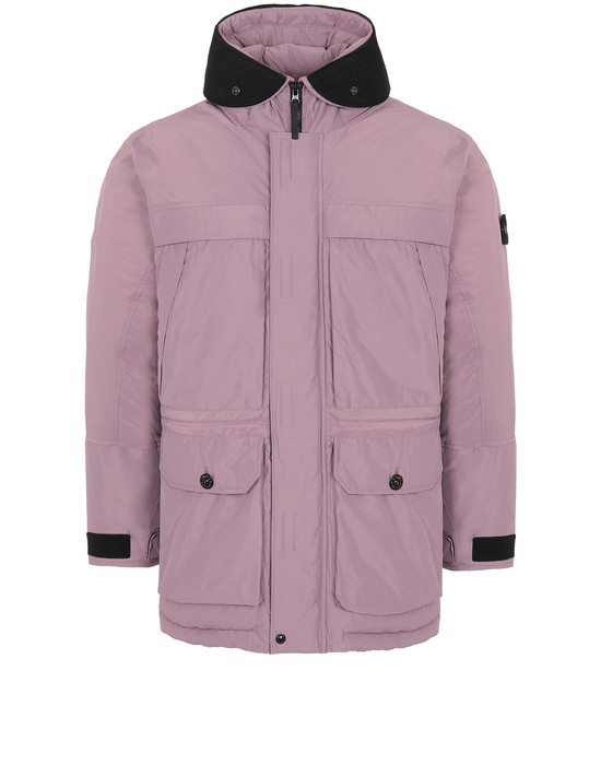 Sold out - STONE ISLAND 40626 MICRO REPS DOWN Mid-length jacket Man Magenta