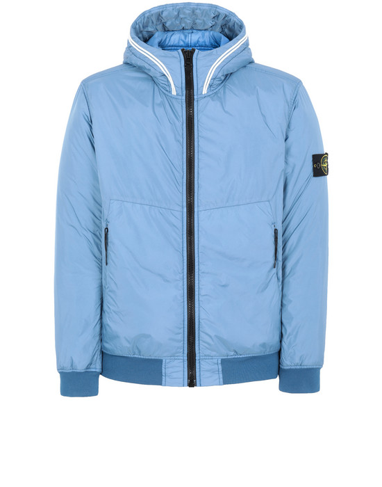 Cazadora Hombre 40423 GARMENT DYED CRINKLE REPS NY WITH PRIMALOFT®-TC Front STONE ISLAND