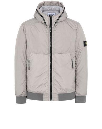 STONE ISLAND 40423 GARMENT DYED CRINKLE REPS NY WITH PRIMALOFT®-TC Jacket Man Mud USD 450