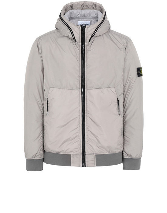 STONE ISLAND 40423 GARMENT DYED CRINKLE REPS NY WITH PRIMALOFT®-TC Jacket Man Mud
