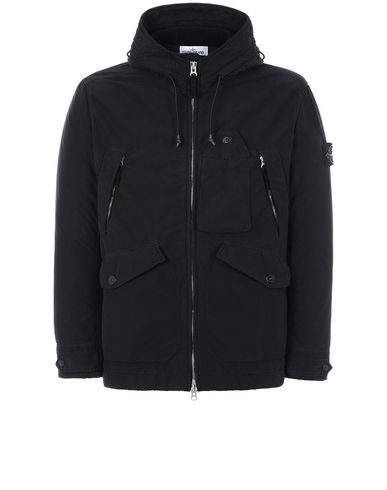STONE ISLAND 40931 DAVID LIGHT-TC WITH MICROPILE Jacket Man Black EUR 775
