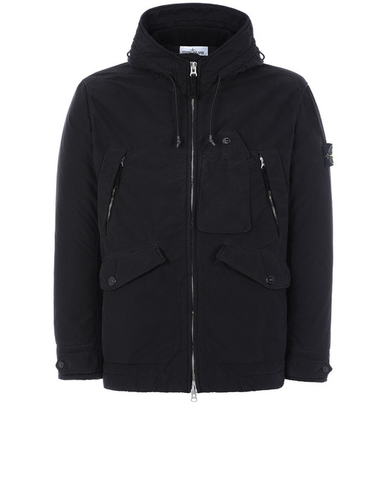 STONE ISLAND 40931 DAVID LIGHT-TC WITH MICROPILE 休闲夹克 男士 黑色
