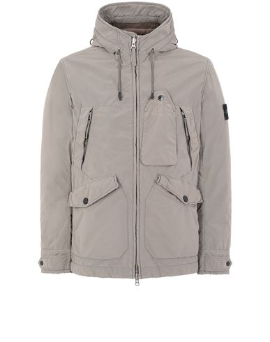 STONE ISLAND 40931 DAVID LIGHT-TC WITH MICROPILE 休闲夹克 男士 泥土色 EUR 813