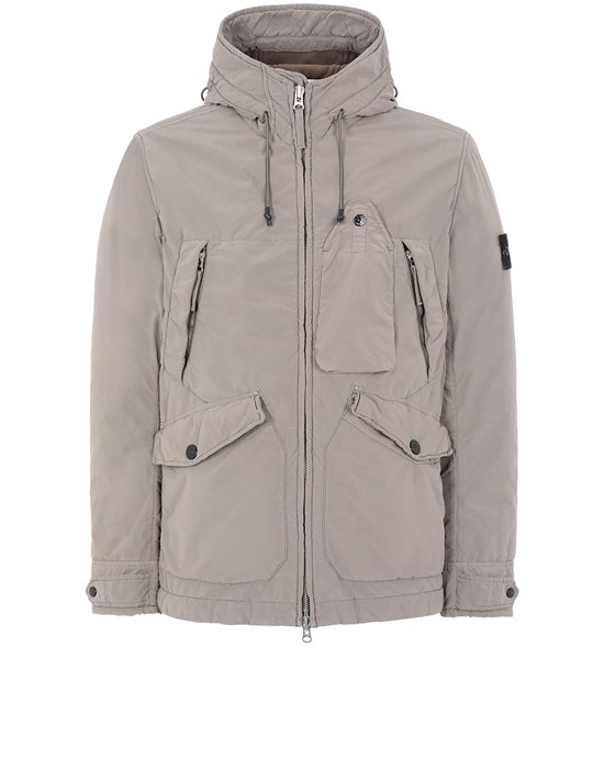 STONE ISLAND 40931 DAVID LIGHT-TC WITH MICROPILE Cazadora Hombre Barro