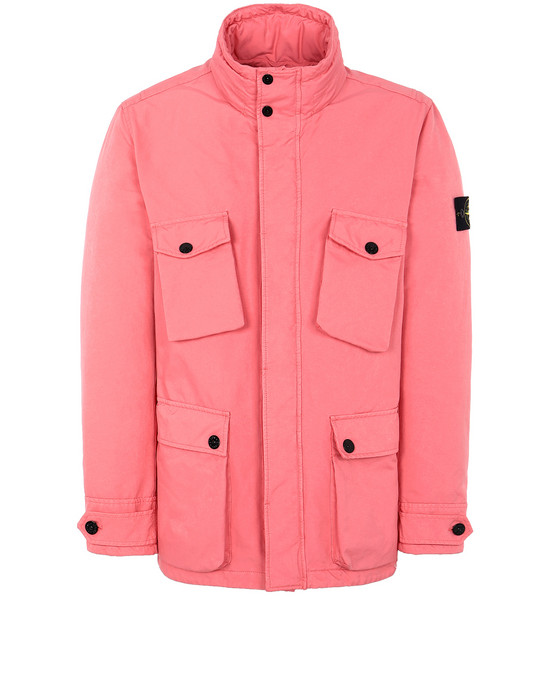 STONE ISLAND 42549 DAVID-TC WITH PRIMALOFT® INSULATION Mid-length jacket Man Cyclamen