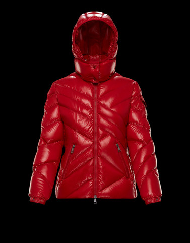 DESIRADE Red Category Short outerwear Woman