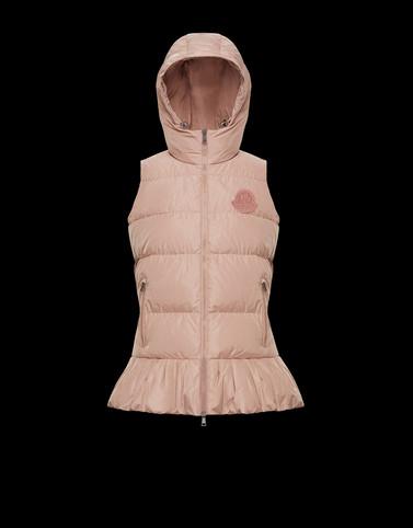 BRANNEC Powder Rose Waistcoats Woman