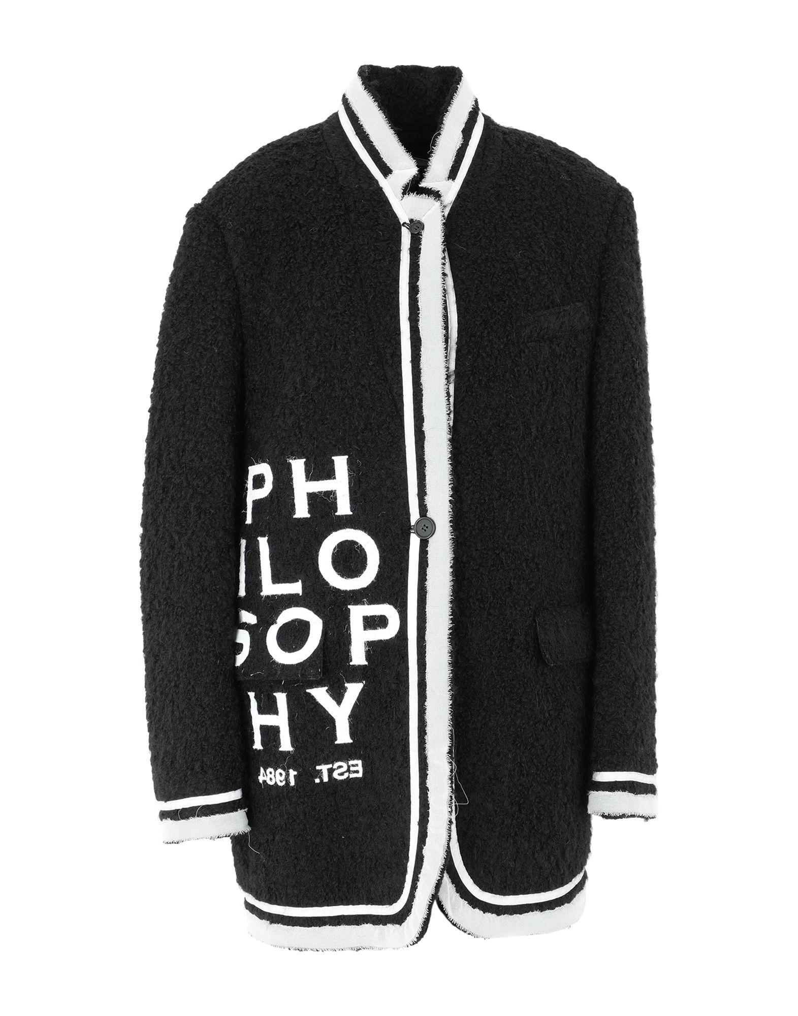 PHILOSOPHY di LORENZO SERAFINI Пальто philosophy di lorenzo serafini пальто