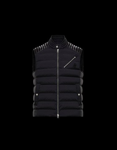 TOLONNE Black Category Waistcoats Man