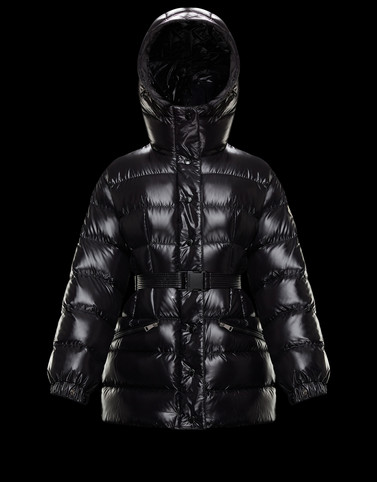 ILUR Black Short Down Jackets Woman
