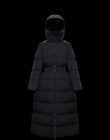GOELO Black Long Down Jackets Woman