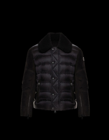 MONGIOIE Black Category Short outerwear Man