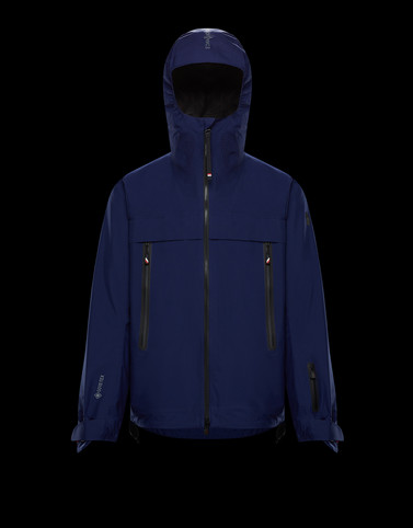 VILLAIR Dark blue Category Overcoats Man