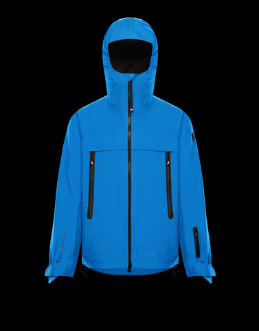 VILLAIR Turquoise Ski jackets Man
