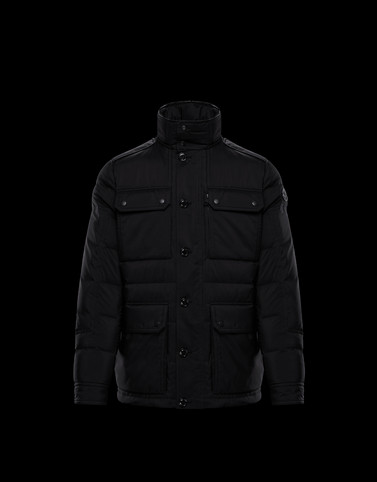 LAGGINHORN Black Category Overcoats Man
