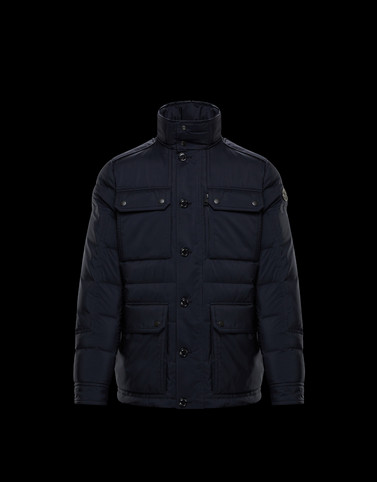 LAGGINHORN Dark blue Category Overcoats Man
