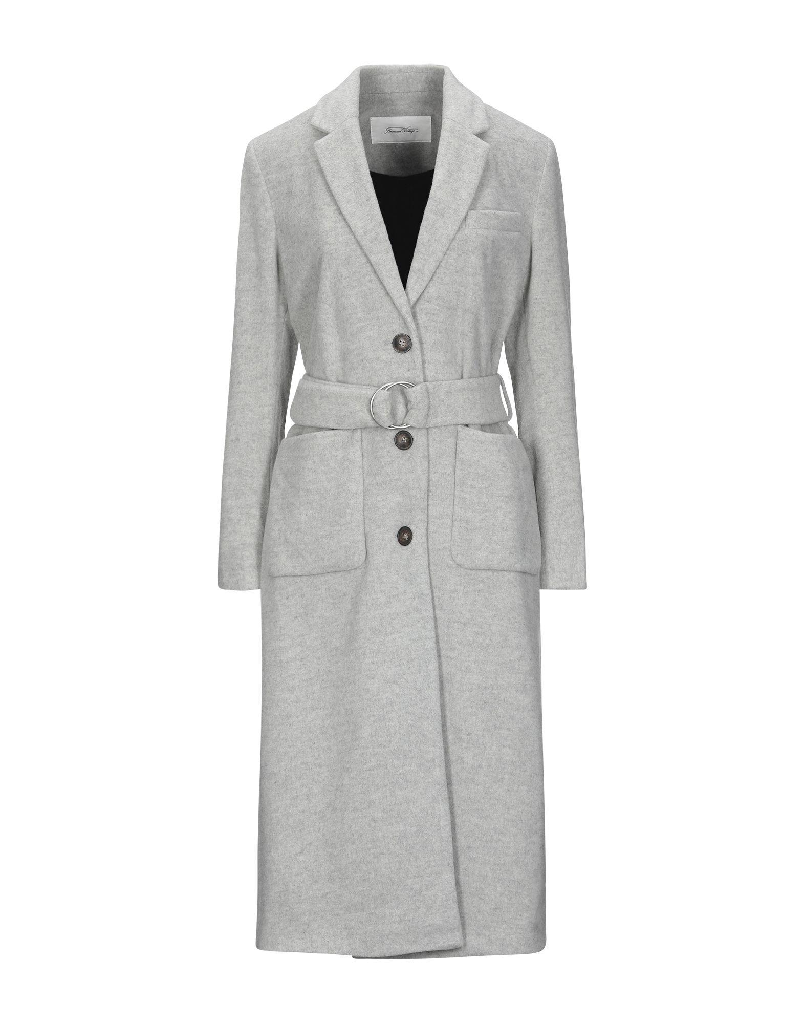 AMERICAN VINTAGE Пальто пальто с мехом норки american legend