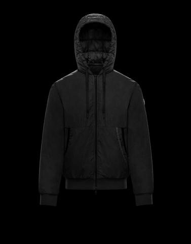 MONDRONE Black Down Jackets Man