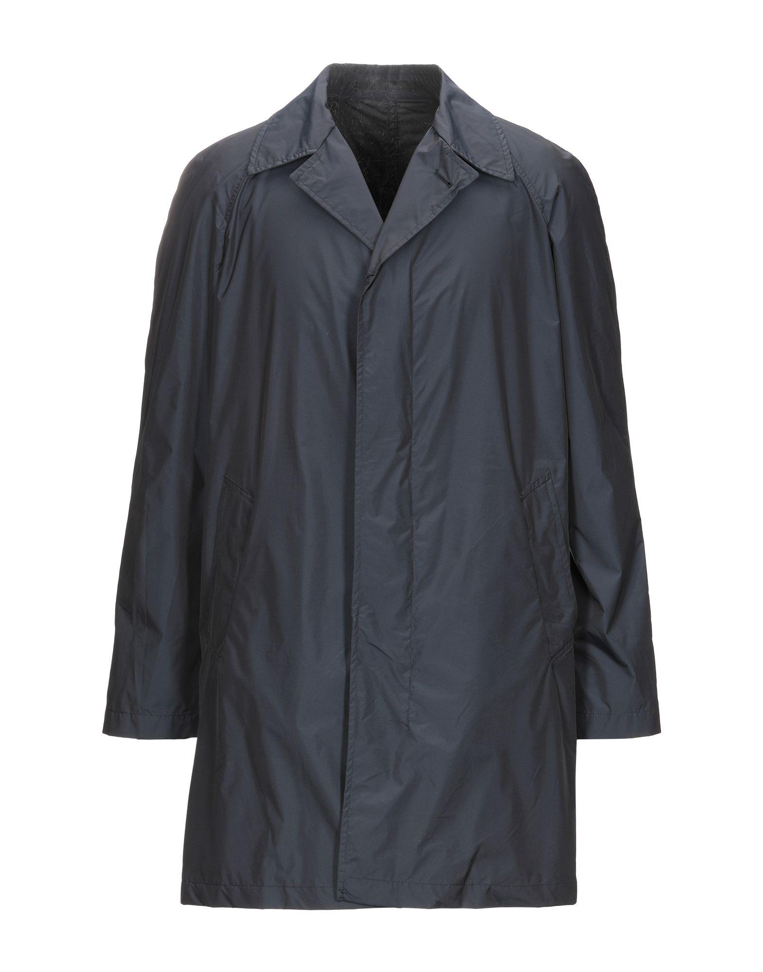 《セール開催中》BERRY & BRIAN メンズ ライトコート ダークブルー 50 ナイロン 43% / ポリエステル 34% / アクリル 23%