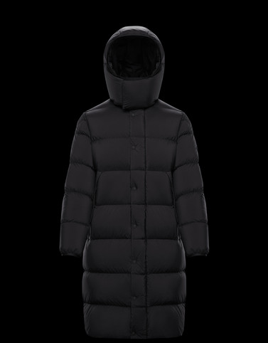 STRAHLHORN Black Category Long outerwear Man