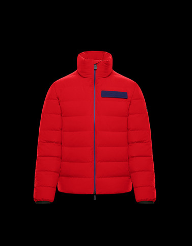 KANDER Red Ski jackets Man