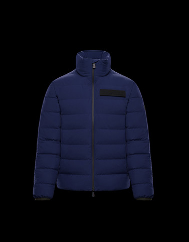 KANDER Blue Grenoble Jackets and Down Jackets Man