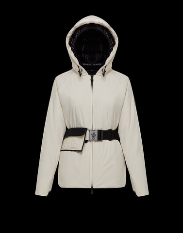 VALPELLINE Ivory Category Overcoats Woman