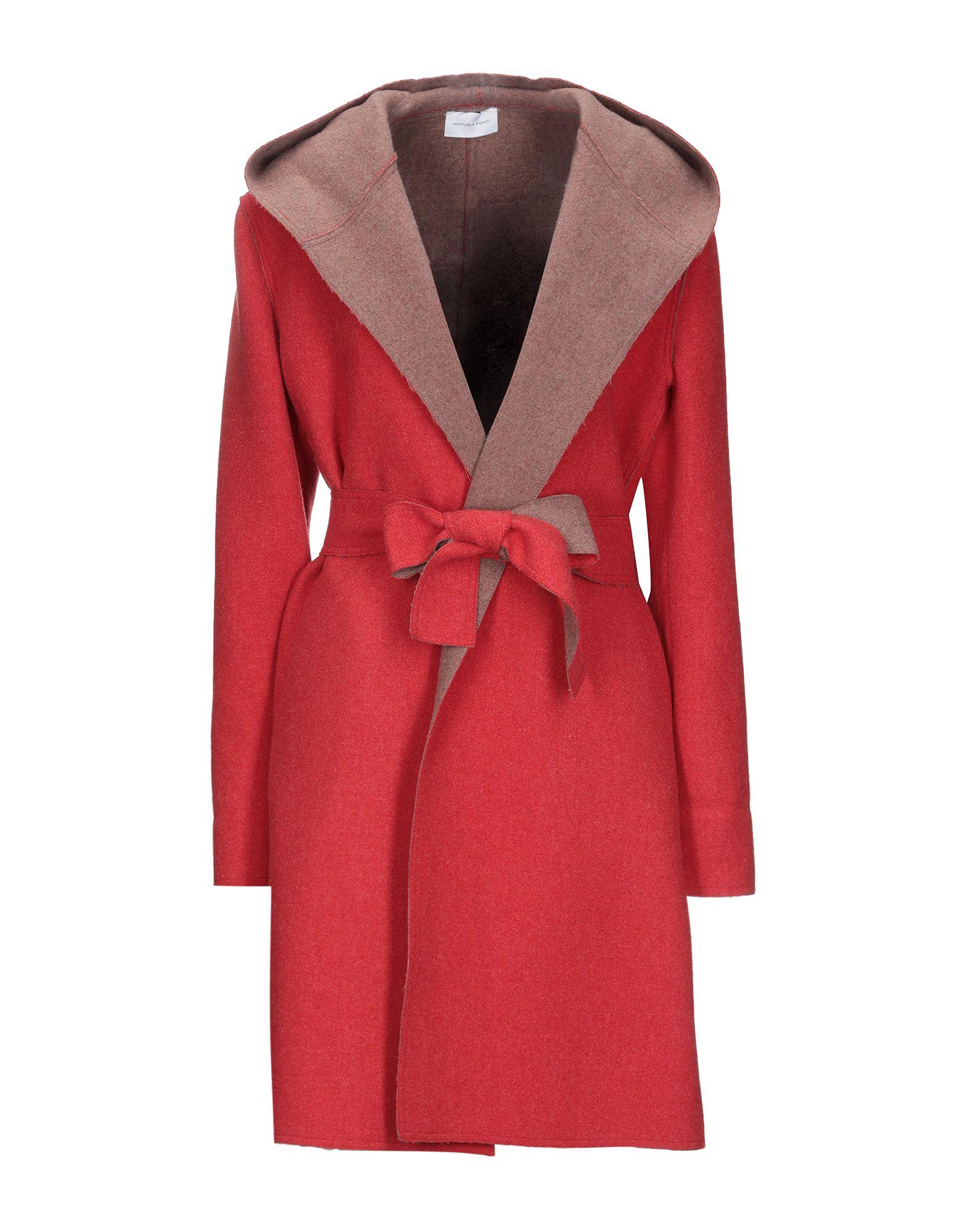 цена MANUELA CONTI Пальто онлайн в 2017 году