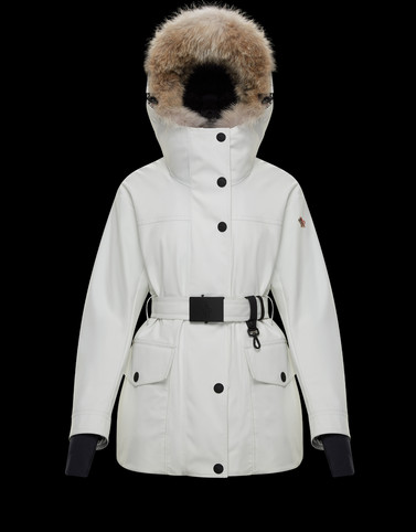 SINGLIN White Jackets & Parkas Woman