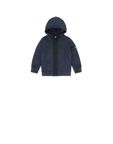 STONE ISLAND BABY Q0130 SOFT SHELL-R LIGHTWEIGHT JACKET Man Blue EUR 243