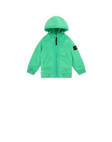 STONE ISLAND BABY Q0130 SOFT SHELL-R LIGHTWEIGHT JACKET Man Green USD 188