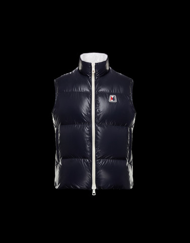 MONGINEVRO Colore Blu scuro Categoria Gilet Uomo