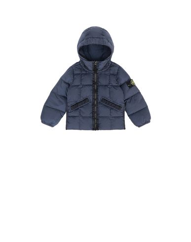 STONE ISLAND BABY 40333 GARMENT DYED CRINKLE REPS NY DOWN Jacket Man Marine Blue EUR 400