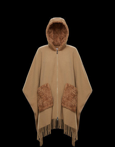 CLOAK Camel Category Capes Woman
