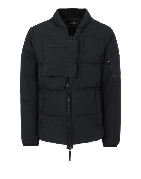 STONE ISLAND SHADOW PROJECT 403B1 ENCASE PANEL DOWN INSULATOR Giubbotto Uomo Nero