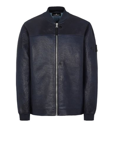 STONE ISLAND SHADOW PROJECT 001ID BOMBER JACKET Jacket Man Dark blue EUR 2285