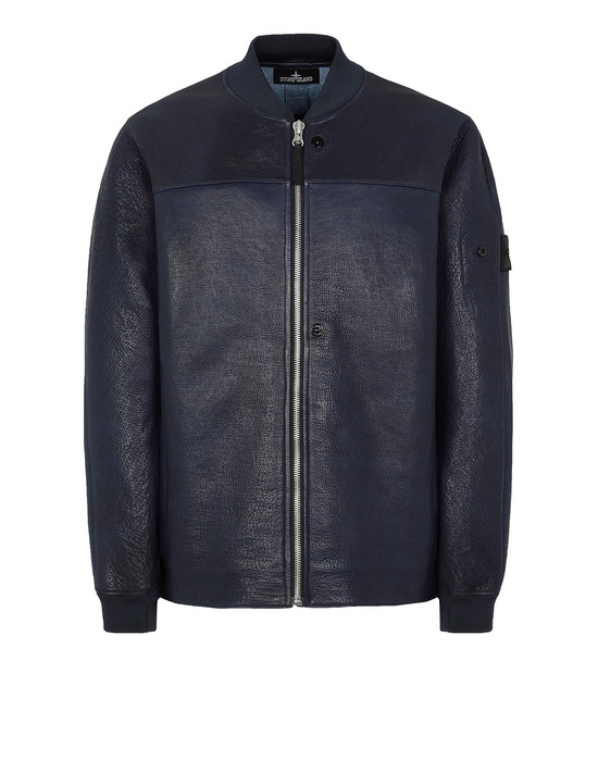 STONE ISLAND SHADOW PROJECT 001ID BOMBER JACKET Giubbotto Uomo Blu scuro