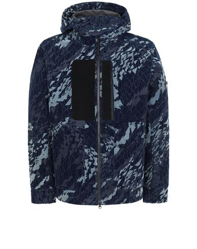 STONE ISLAND SHADOW PROJECT 402I4 HOODED JACKET Jacket Man Dark blue EUR 925