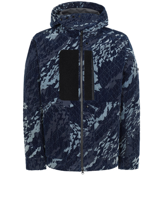STONE ISLAND SHADOW PROJECT 402I4 HOODED JACKET ブルゾン メンズ ダークブルー