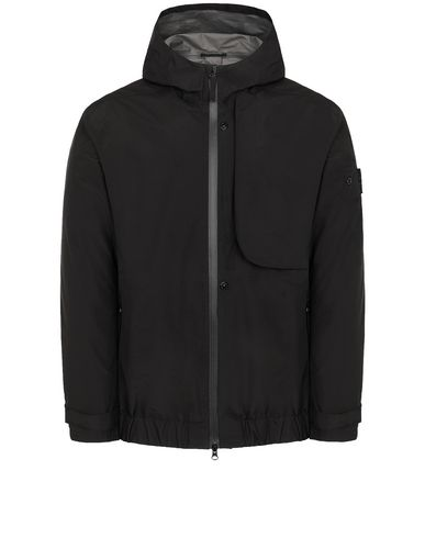 STONE ISLAND SHADOW PROJECT 40501 SHELL   Jacket Man Black USD 828