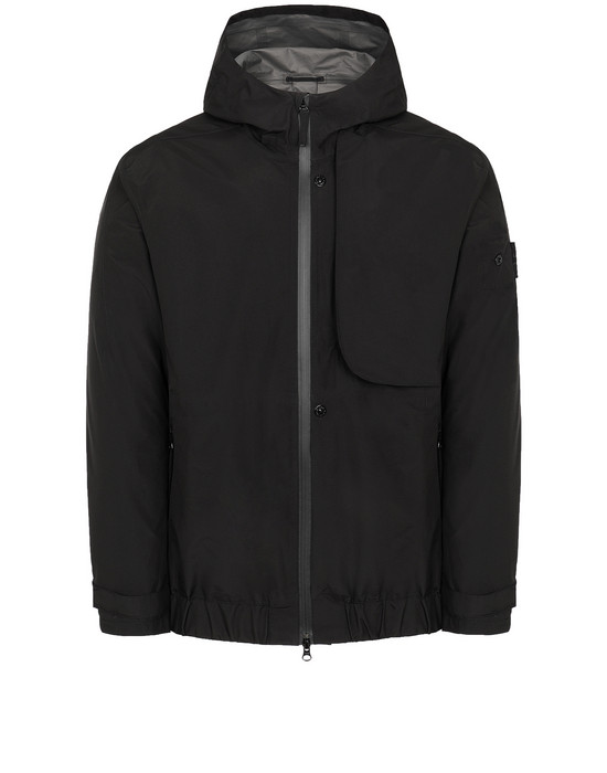 STONE ISLAND SHADOW PROJECT 40501 SHELL   Giubbotto Uomo Nero