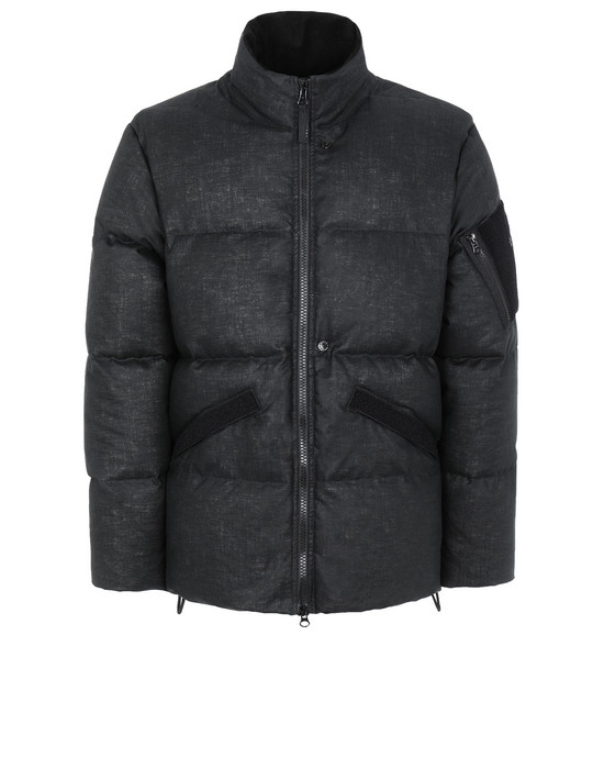 STONE ISLAND SHADOW PROJECT 407B3 DOWN JACKET Jacke Herr Schwarz