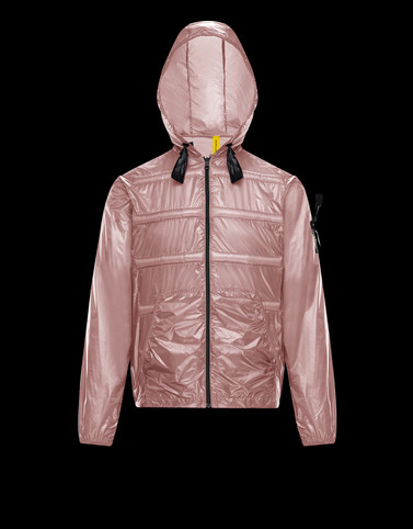 PEEVE Pink Down Jackets Man