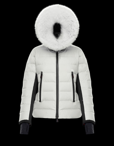 LAMOURA White Ski jackets Woman